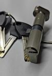 KEDR BRASS M90 ZCN (45T*45) стальной ключ ,с поворотником,никель